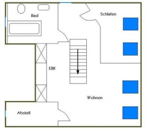 2 Rooms, Attic Apartment