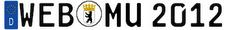 The WEBMU 2012 logo