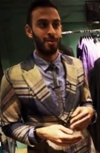 Would you trust this man's fashion advice?
